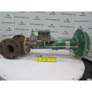 """Pre-Owned - LINEAR - GLOBE VALVE - FISHER - 4"""" - FOR SALE"""