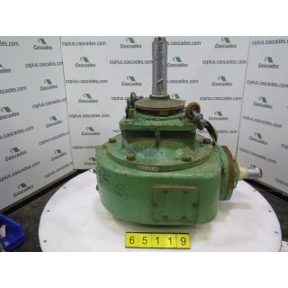 GEARBOX - BLACK CLAWSON PS-24 - RATIO: 4.35 TO 1