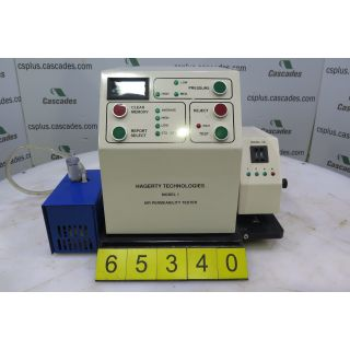 AIR PERMEABILITY TESTER - HAGERTY TECHNOLOGIES