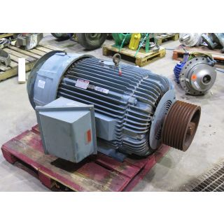 MOTOR - AC - RELIANCE - 125 HP - 900 RPM - 460 VOLTS
