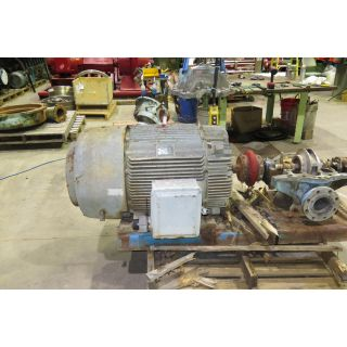 MOTOR - AC - G.E. - 200HP - 3600 RPM - 575 VOLTS