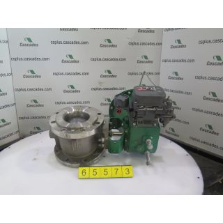 V-BALL VALVE - FISHER - 6""
