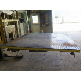 FLOOR SCALE - ACTIVE SCALE MFG - 5000 KG - EC-6060-5000