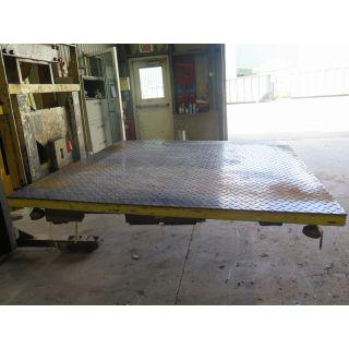 FLOOR SCALE - ACTIVE SCALE MFG - 5000 KG - EC-6060-5000
