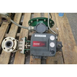 "V-BALL VALVE - FISHER - 1.5"" - USED"