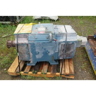 MOTOR - DC - RELIANCE - 250 HP - 1200 RPM - 500 VOLTS