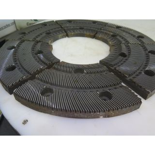 """REFINER PLATES - ANDRITZ - SPROUT - 26"""" - MODEL: : 26TA201 X1 AA"""