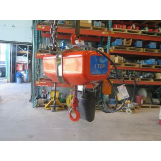 ELECTRIC CHAIN HOIST - JET - 1 TON