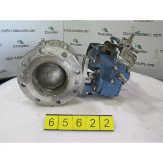 "V-BALL VALVE - DEZURIK - 6"" - USED"