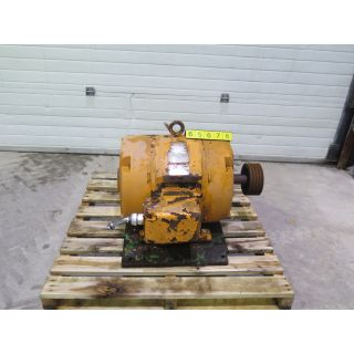 MOTOR - AC - G.E. - 50 - 25HP - 1800 RPM - 550 VOLTS