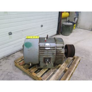 MOTOR - AC - G.E. - 100 HP - 1200 RPM - 575 VOLTS