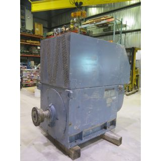 MOTOR - AC - WESTINGHOUSE - 500 HP - 800 RPM - 4160 VOLTS