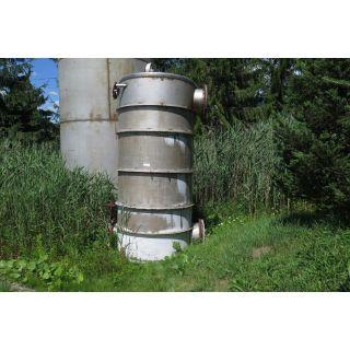 "TANK - 2000 GAL - 5'4"" x 12' - Stainless Steel (64"" x 144"")"