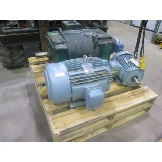 MOTOR - AC - TECO WESTINGHOUSE - 30 HP - 1800 RPM - 575 VOLTS