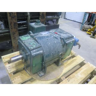 MOTOR - DC - GENERAL ELECTRIC - 75 HP - 1750 TO 2100 RPM - 500 V ARM. - 240 V FIELD
