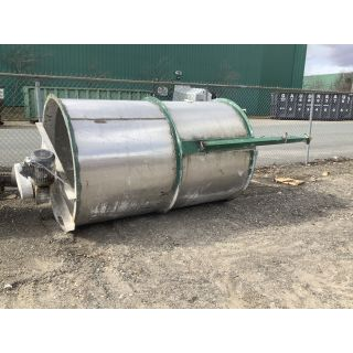 TANK - 1200 GAL / 4500 L - 5' X 8' - STAINLESS STEEL