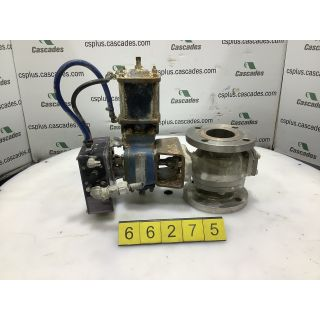 "V-BALL - VALVE - DEZURIK - 3"" - USED"