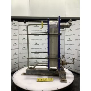 GASKETED PLATE-AND-FRAME HEAT EXCHANGER - ALFA LAVAL - M6-FMG