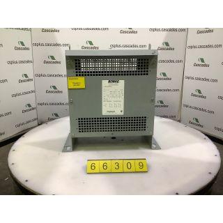 TRANSFORMER - BEMAG - 45 KVA - 600V to 480V