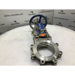 "KNIFE GATE VALVE - ORBINOX - 6"" - USED"