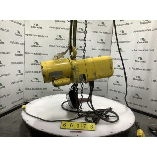 ELECTRIC CHAIN HOIST - YALE - 1 TON