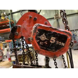 ELECTRIC CHAIN HOIST - JET - 5 TON