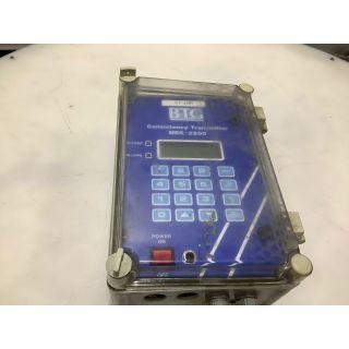 CONSISTENCY TRANSMITTER - BTG - MEK-2200