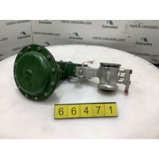 "V-BALL - VALVE - FISHER - 2"" - USED"