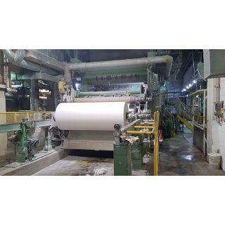 TISSUE PAPER MACHINE - ER-WE-PA - 9 to 22 BASIS WEIGHT - 4500 FPM