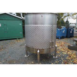 685 GAL - STAINLESS STEEL TANK - JACKETED - ALLFAB