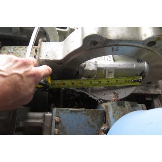 """BUTTERFLY VALVE - JAMESBURY 815W - 8"""" - USED"""