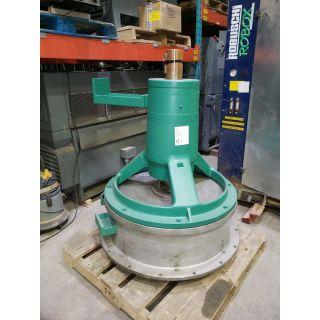 DRIVE ASSEMBLY WITH EXTRACTION CHAMBER - SCAVENGER - FIBERPREP LAMORT - TYPE: III
