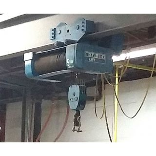 ELECTRIC HOIST - 5 TON - SHAW-BOX - 800 Series