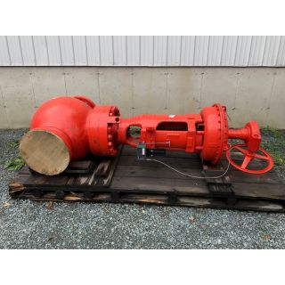 "PRE OWNED GLOBE VALVE - COPES VULCAN - 12"" - FOR SALE"