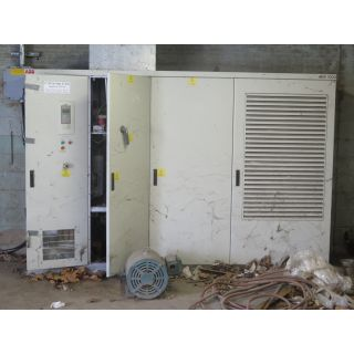 Pre-Owned - FAN PUMP VFD DRIVE - ABB - 481 KW (600HP) - FOR SALE