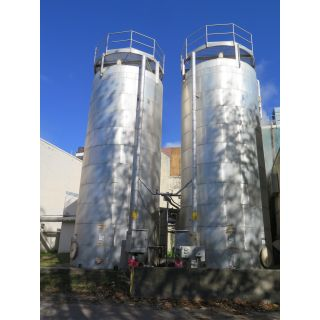 TANK FOR SALE - #6 OIL GRADE BUNKER C FUEL STORAGE TANK - 25000 US GAL