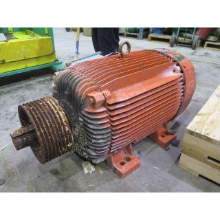 MOTOR - AC - WEG - 125 HP - 900 RPM - 575 VOLTS