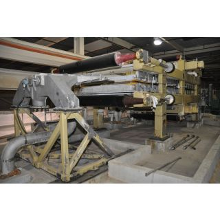 "USED - TWIN WIRE PRESS - FIELDS & BOYD - 80"" - 200-220 TM/jr - FOR SALE"