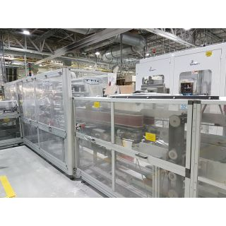 Roll Wrapping Machines - Tissue Machinery Company - FTS 300