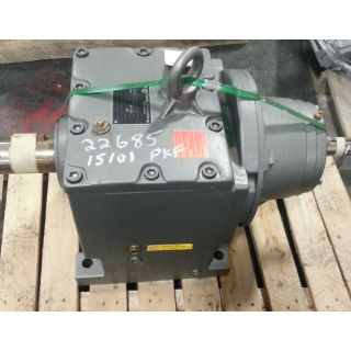 GEARBOX - NORD SK73W - RATIO: 28.32 to 1