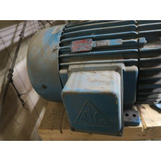 MOTOR - AC - DELCO - 60 HP - 1800 RPM - 460 VOLTS