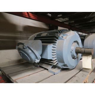 REFURBISHED - MOTOR - AC - RELIANCE - 40 HP - 1200 RPM - 220 / 440 VOLTS - FOR SALE