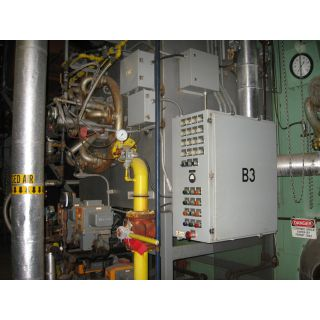 WATER TUBE BOILER - 100 000 LB/H - 250 PSI - NEBRASKA BOILER NS-F-72