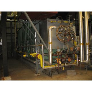 WATER TUBE BOILER - 100 000 LB/H - 250 PSI - NEBRASKA BOILER - NS-F-72