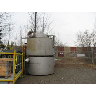 TANK - 1150 GAL - 7' x 4' STAINLESS STEEL