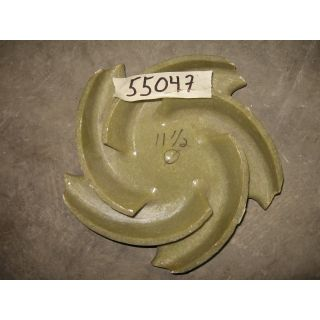 IMPELLER - GOULDS NM3196 MTX - 4 x 6 - 13 - Item 101 - Parts #: C02634A-6929 - Fiberglass Reinforced Vinylester - FRP Process Pumps