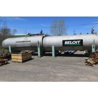 "TANK - 2200 GAL - 4'10"" x 16' STAINLESS STEEL (58"" x 192.750"")"