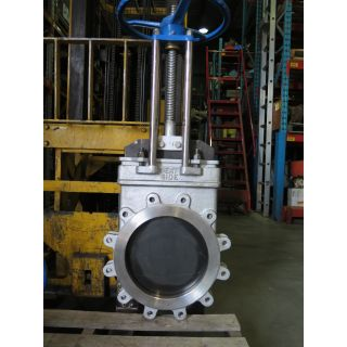 "KNIFE GATE VALVE - 14"" - TRUELINE - MANUAL - RESILIENT SEAT"