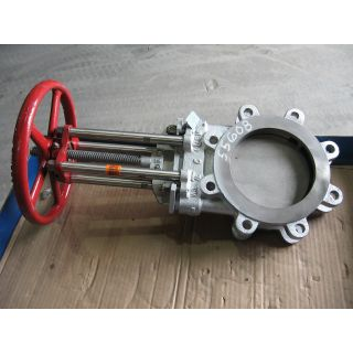 "KNIFE GATE VALVE - 6"" - TRUELINE - MANUAL - RESILIENT SEAT"
