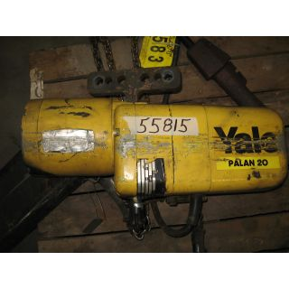 ELECTRIC CHAIN HOIST - 2 TON - YALE YEL2.0-15H085